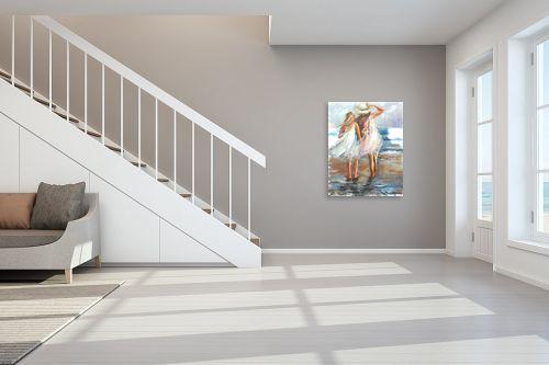תמונה לחדר מדרגות - בן רוטמן - ילדות בחוף תל אביב - מק''ט: 150737