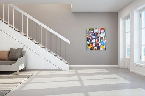 תמונה לחדר מדרגות - בן רוטמן - קומפוזיציה עירונית - מק''ט: 153039