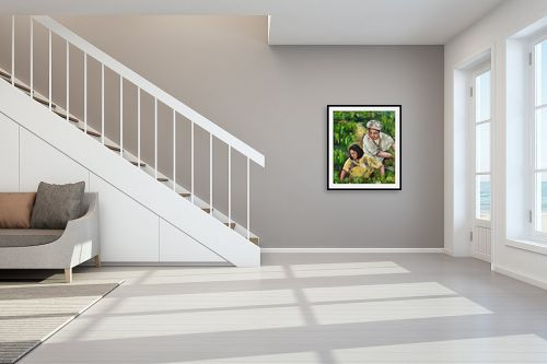 תמונה לחדר מדרגות - שולי חיימזון - בשדות האורזl - מק''ט: 159520