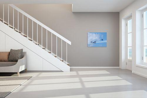 תמונה לחדר מדרגות - ארי בלטינשטר - מפגן אוירי 02 - מק''ט: 159551