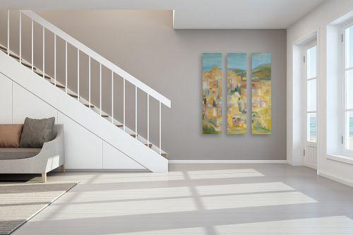 תמונה לחדר מדרגות - רינה יניב - צפת - מק''ט: 163884