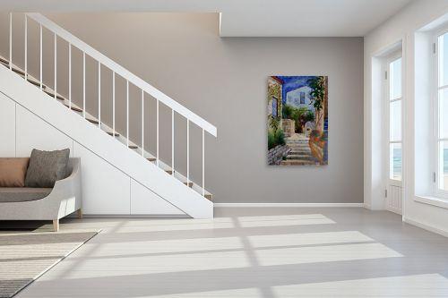 תמונה לחדר מדרגות - רוחלה פליישר - אווירה בצפת - מק''ט: 163949