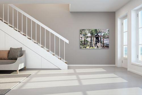 תמונה לחדר מדרגות - מיכל פרטיג - גשר צר מאד - מק''ט: 168763