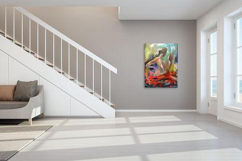 תמונה לחדר מדרגות - בן רוטמן - ריקוד  סוער - מק''ט: 170893