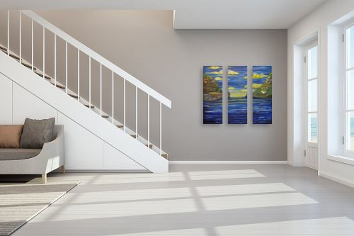 תמונה לחדר מדרגות - אילה ארויו - מפרץ האשליות - מק''ט: 170927