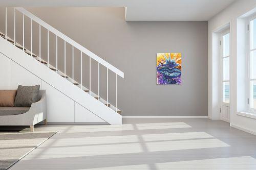 תמונה לחדר מדרגות - אילה ארויו - מערבולת שחפים - מק''ט: 171042