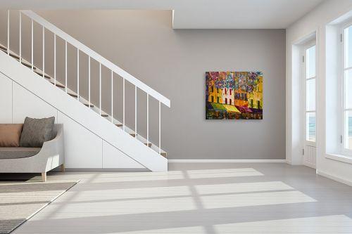 תמונה לחדר מדרגות - רוחלה פליישר - בצל העץ השמח - מק''ט: 173139