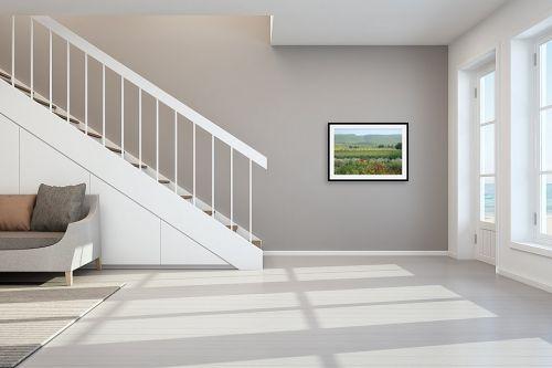 תמונה לחדר מדרגות - מיכל פרטיג - שיא אביבי - מק''ט: 174021