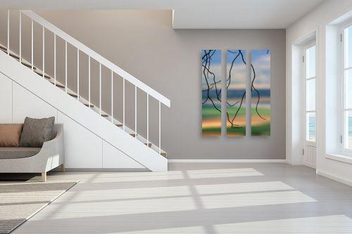 תמונה לחדר מדרגות - מיכל פרטיג - רצים באויר - מק''ט: 174030