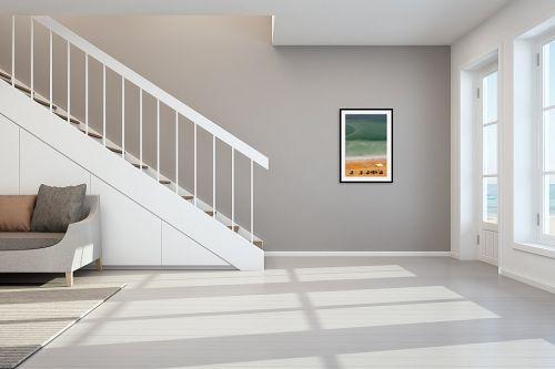 תמונה לחדר מדרגות - שרית סלימן - שלווה בים המלח 2 - מק''ט: 177337
