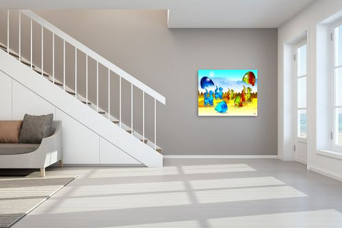 תמונה לחדר מדרגות - ויקטוריה רייגירה - דינו תאום - מק''ט: 180639