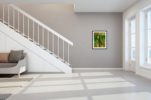 תמונה לחדר מדרגות - אסתר חן-ברזילי - מקסמי היער - מק''ט: 185075