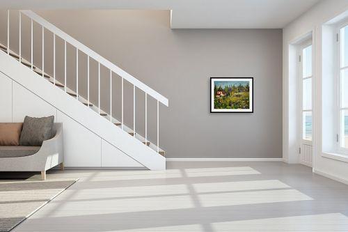 תמונה לחדר מדרגות - רוחלה פליישר - נוף כפרי - מק''ט: 186620