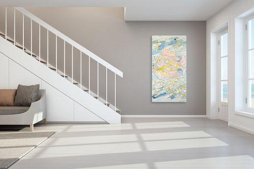 תמונה לחדר מדרגות - חנה כרמי - דגים באילת - מק''ט: 194614