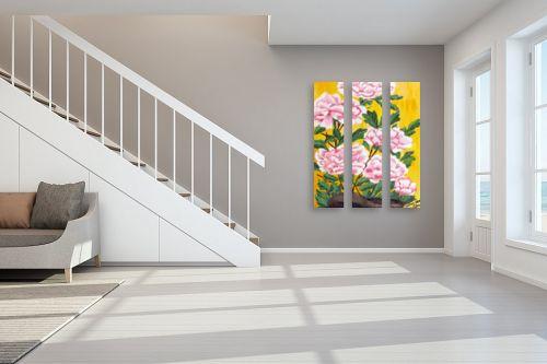 תמונה לחדר מדרגות - חנה כרמי - קריזנטמות - מק''ט: 194704