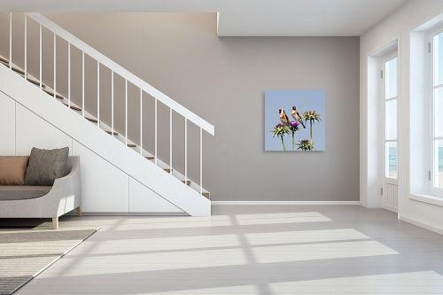 תמונה לחדר מדרגות - ארי בלטינשטר - חוחיות וקוצים - מק''ט: 198270