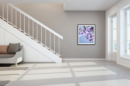 תמונה לחדר מדרגות - איה אפשטיין - סיגלון - מק''ט: 201938