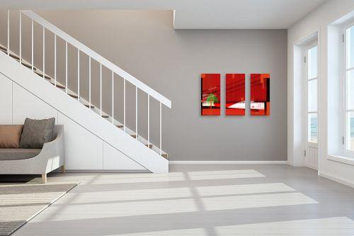 תמונה לחדר מדרגות - רוזה לשצ'ינסקי - גשר באדום - מק''ט: 203689