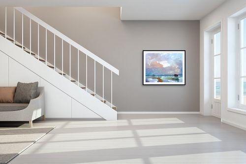 תמונה לחדר מדרגות - בן רוטמן - מחשבות - מק''ט: 204327