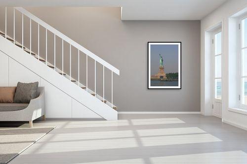 תמונה לחדר מדרגות - אלי נגר - פסל החרות - מק''ט: 208286