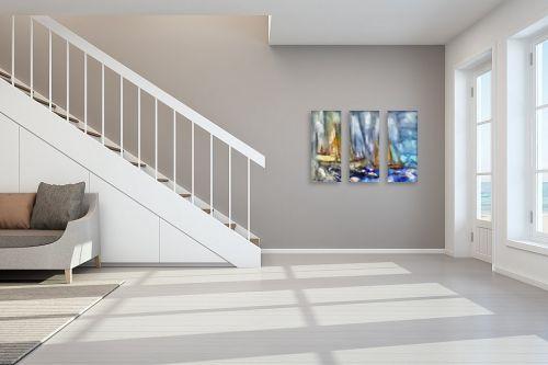 תמונה לחדר מדרגות - בן רוטמן - סירות ללא מוצא - מק''ט: 209013