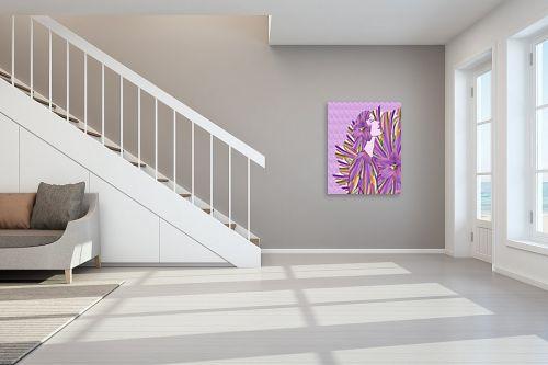 תמונה לחדר מדרגות - ויקטוריה רייגירה - סם חיים - מק''ט: 209697