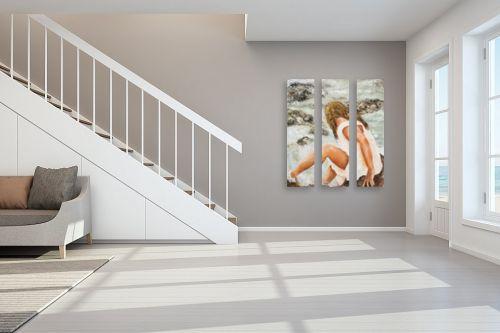 תמונה לחדר מדרגות - שולי חיימזון - ליד הנהר - מק''ט: 210880