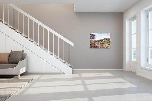 תמונה לחדר מדרגות - חיה וייט - פריחת השקדיות  - מק''ט: 213183