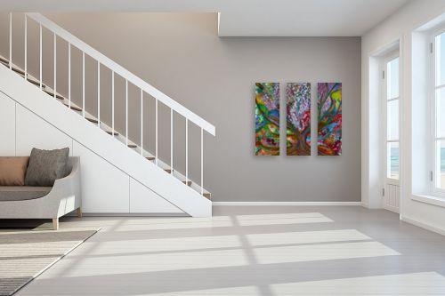 תמונה לחדר מדרגות - אסתר חן-ברזילי - עץ המשאלות - מק''ט: 214222