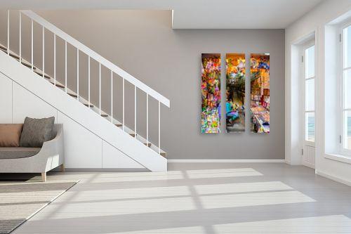 תמונה לחדר מדרגות - אילן עמיחי - השוק - מק''ט: 219208