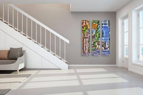 תמונה לחדר מדרגות - אורי ברוך - נחלאות - מק''ט: 222078