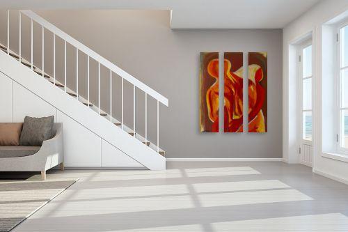 תמונה לחדר מדרגות - MMB Art Studio - חיבוק 2 - מק''ט: 223200
