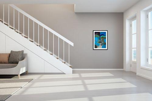 תמונה לחדר מדרגות - MMB Art Studio - Face - מק''ט: 227319