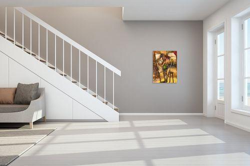 תמונה לחדר מדרגות - בן רוטמן - אהבה טוטלית - מק''ט: 228317