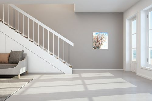 תמונה לחדר מדרגות - חיה וייט - ענפי שקדיה - מק''ט: 229906