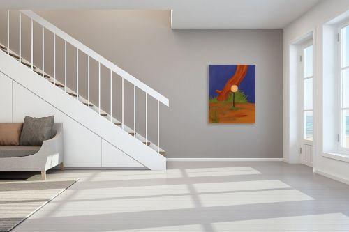 תמונה לחדר מדרגות - עדי גולדברג - מבט מהחדר - מק''ט: 23182
