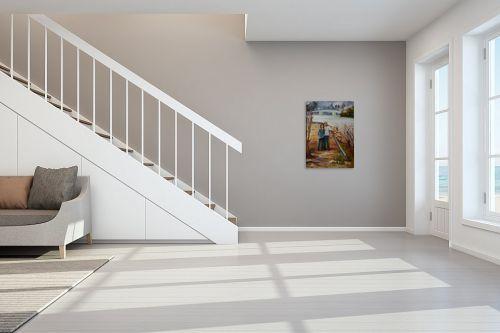 תמונה לחדר מדרגות - שרה וולקוב - מחוץ לעיר - מק''ט: 236279