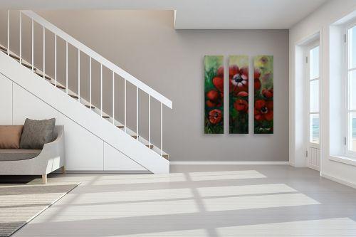 תמונה לחדר מדרגות - שרה וולקוב - כלניות - מק''ט: 236280