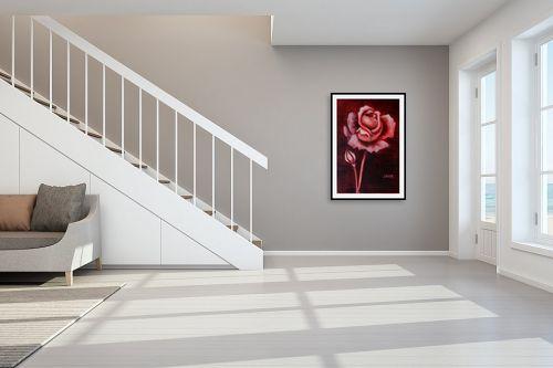 תמונה לחדר מדרגות - שרה וולקוב - ורד - מק''ט: 236288