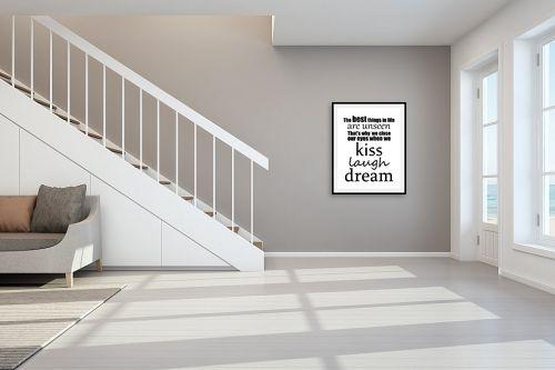 תמונה לחדר מדרגות - מסגרת עיצובים - Best things - מק''ט: 241112