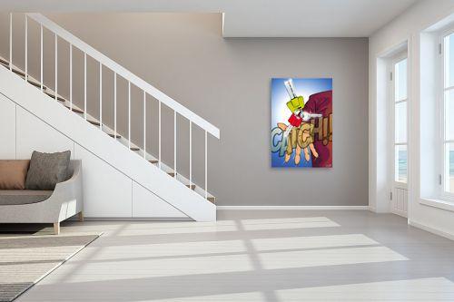 תמונה לחדר מדרגות - חנן אביסף - תפוס את המפתח - מק''ט: 241565