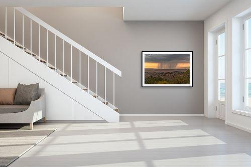 תמונה לחדר מדרגות - מיכאל שמידט - ותן טל ומטר לברכה - מק''ט: 244303
