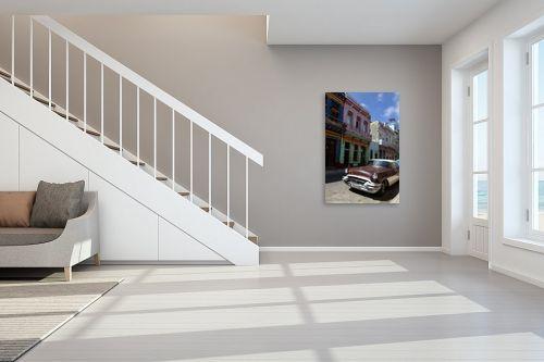 תמונה לחדר מדרגות - שרית סלימן - ברחובות הוואנה - מק''ט: 247810
