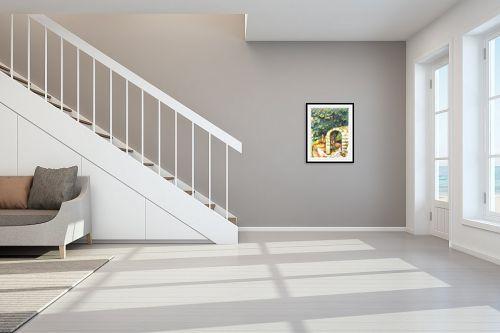 תמונה לחדר מדרגות - חיה וייט - עץ תאנה עתיק - מק''ט: 261370