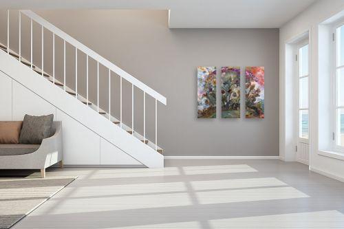 תמונה לחדר מדרגות - חוה מזרחי - קשת החיים - מק''ט: 262691