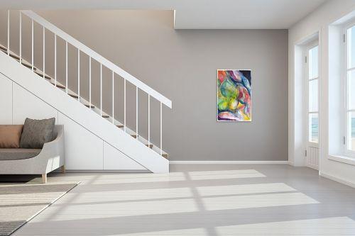 תמונה לחדר מדרגות - חוה מזרחי - עשרת הדברות - מק''ט: 263633