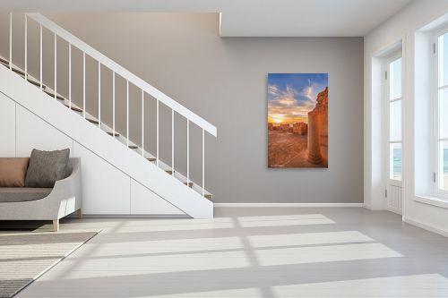 תמונה לחדר מדרגות - איזבלה אלקבץ - זריחה במצדה - מק''ט: 268488