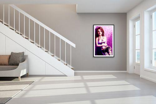 תמונה לחדר מדרגות - חנן אביסף - נערה בשם ורד - מק''ט: 269497