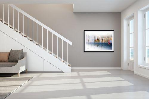 תמונה לחדר מדרגות - אורית גפני - נגיעות - מק''ט: 270759