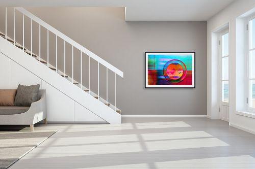 תמונה לחדר מדרגות - אורית גפני - תנופה - מק''ט: 270994